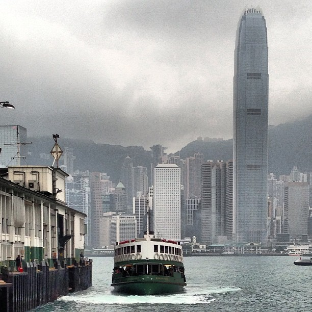 The #Star #Ferry coming into dock. #hongkong #hkig