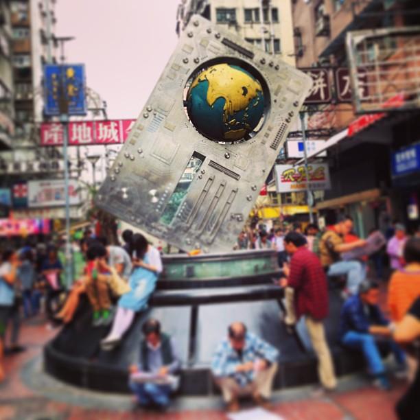#shamshuipo - the IT #shopping district of #hongkong. #hkig