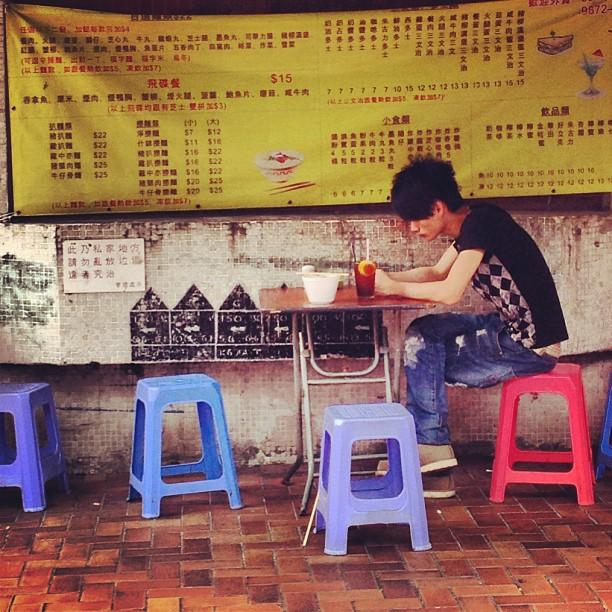 A #hongkong #morning #breakfast on the #sidewalk. #hk #hkig
