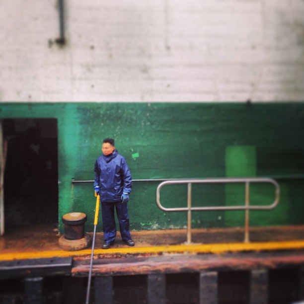 Star #ferry #dock #worker. #hongkong #hk #hkig