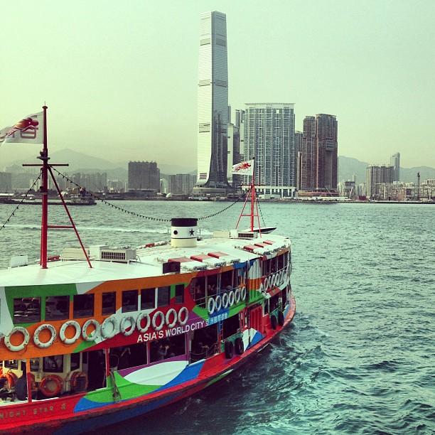 The #ferry to #kowloon. #hongkong #hk #hkig