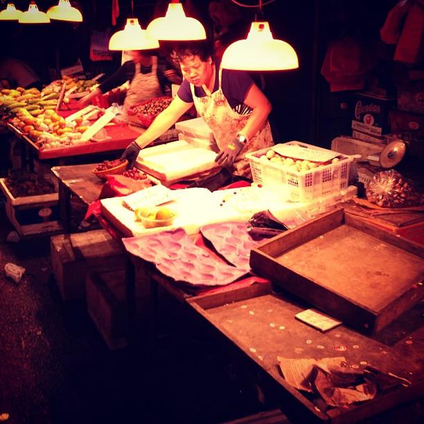 The #fruit #stall closes for the #night. #hongkong #hk #hkig