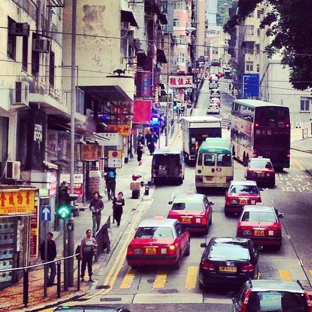 The #hilly #roads of #sheungwan #hongkong. #hk #hkig