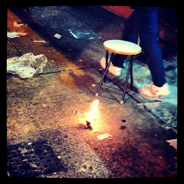 #burnt #offerings on the #streets of #hongkong. #hk #hkig