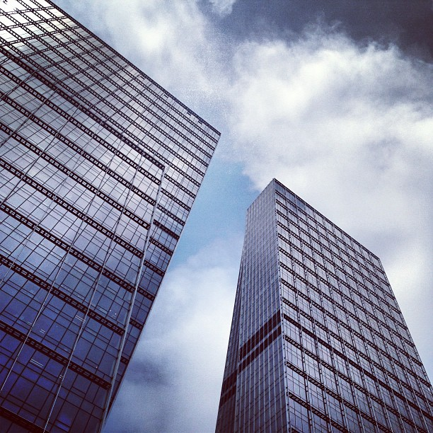 #glass and #steel #towers rising to the #sky. #hongkong #hk #hkig
