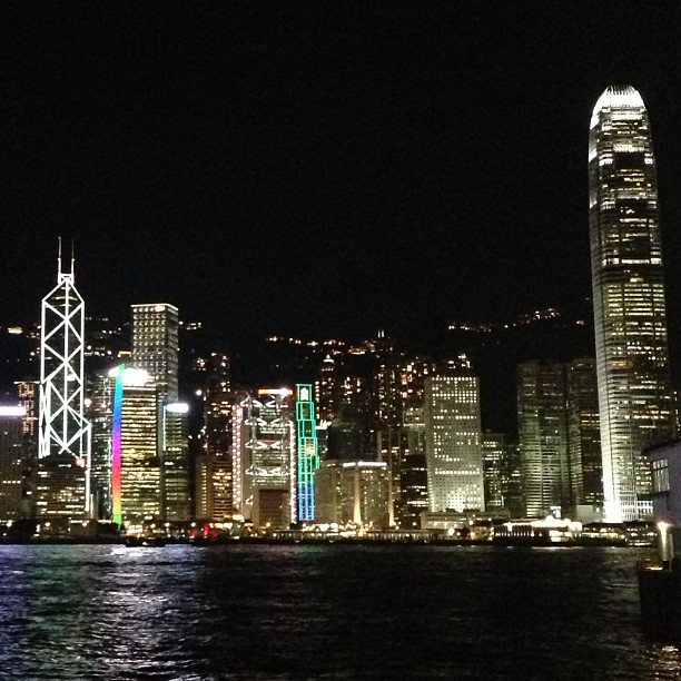 A clear #night in #tsimshatsui. #hongkong #hk #hkig
