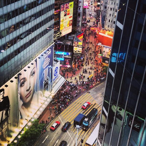 Big #billboard, #tiny #causewaybay. #hongkong #hk #hkig