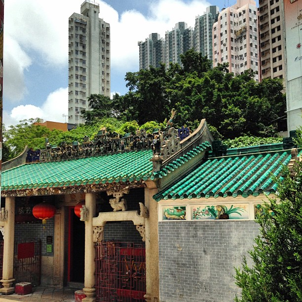 Hung Shing #Temple on #apleichau. #hongkong #hk #hkig