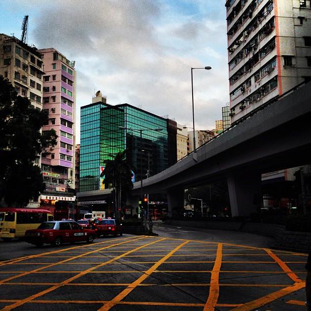 Random #hongkong #evening #street scene. #hk #hkig