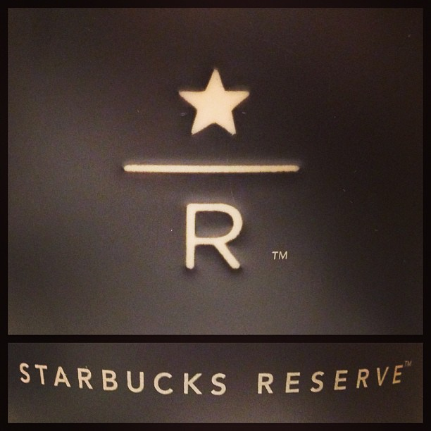 #Starbucks #Reserve - specialty #coffee #beans brewed via #clover. Only available at the #Alexandra #House branch in #central. #hongkong #hk #hkig