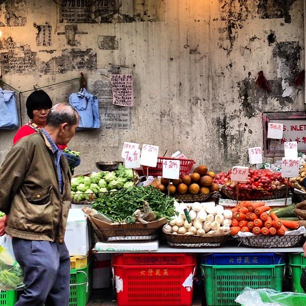 The #morning #market. #hongkong #hk #hkig
