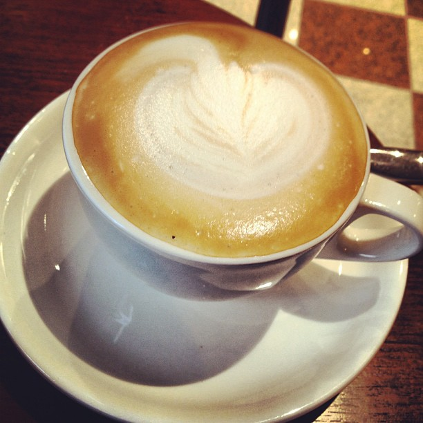 #cappuccino #coffee in a #cafe. #hongkong #hk #hkig