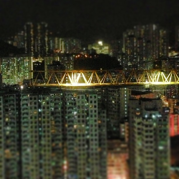 #construction #crane at #night. #hongkong #hk #hkig