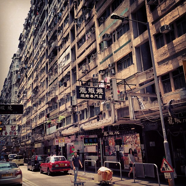 #dense and dreary, the #streets of #hongkong. #hk #hkig
