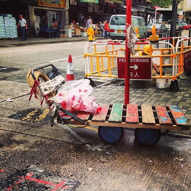 #market #trolley. #hongkong #hk #hkig