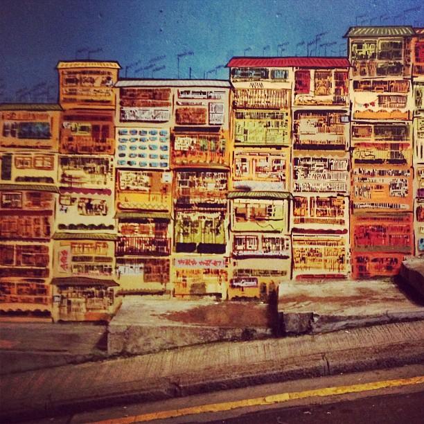 #street #art along #graham #street #central #hongkong. #hk #hkig
