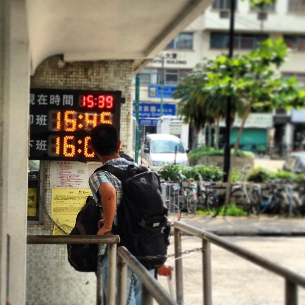 #waiting for the #bus. #hongkong #hk #hkig
