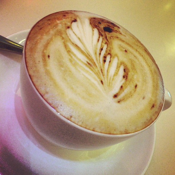 A #cappuccino at Capo's Espresso in #Central #hongkong. #hk #hkig #coffee #cafe