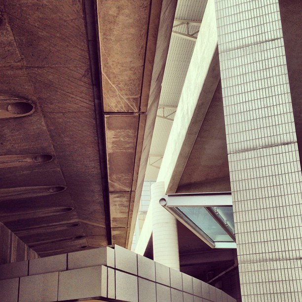 #abstract - #lines and #angles in #ceiling #architecture. #hongkong #hk #hkig