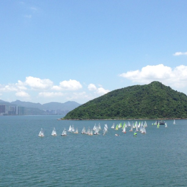 #boats on a #lake. #hongkong #hk #hkig #hkvideo #instavid