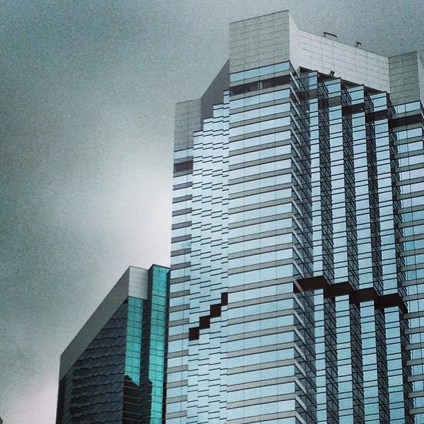 #buildings of #glass and #steel. #hongkong #hk #hkig