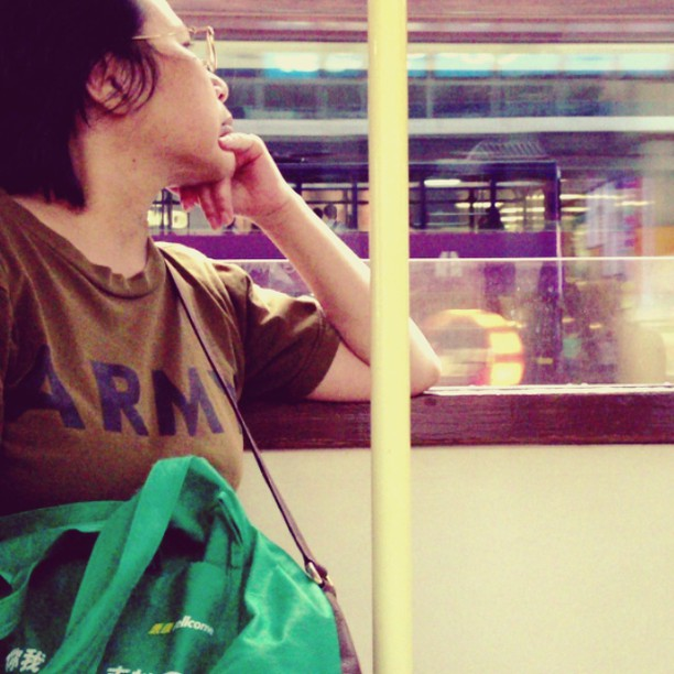 { #daydream} ~ riding the #tram. #hongkong #hk #hkig #hongkongvideo #hkvideo #instavid #instavideo #instagramvideo #whpmovingphotos