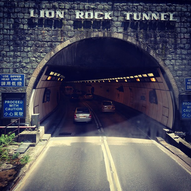 #lionrock #tunnel - the first #road tunnel in #hongkong. #hk #hkig