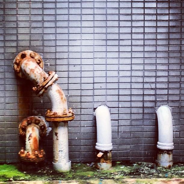 #urban #decay - #rusty #pipes. #hongkong #hk #hkig