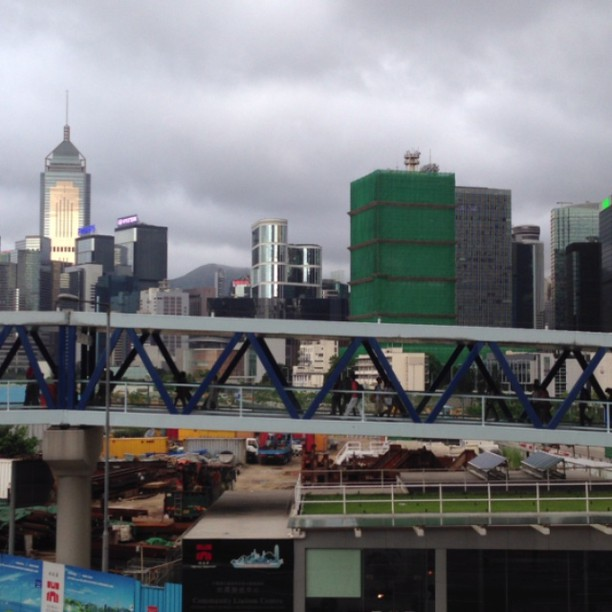 #whpmovingphotos - #footbridge in #central #hongkong.