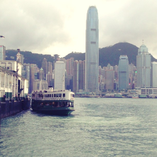#whpmovingphotos - the #hongkong #starferry docks at the #pier.