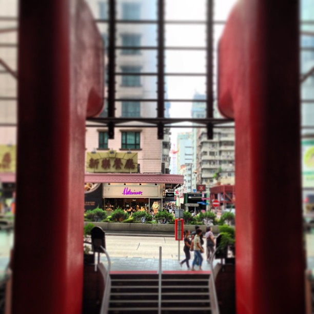 Interesting #shopping #mall #architecture. #hongkong #hk #hkig