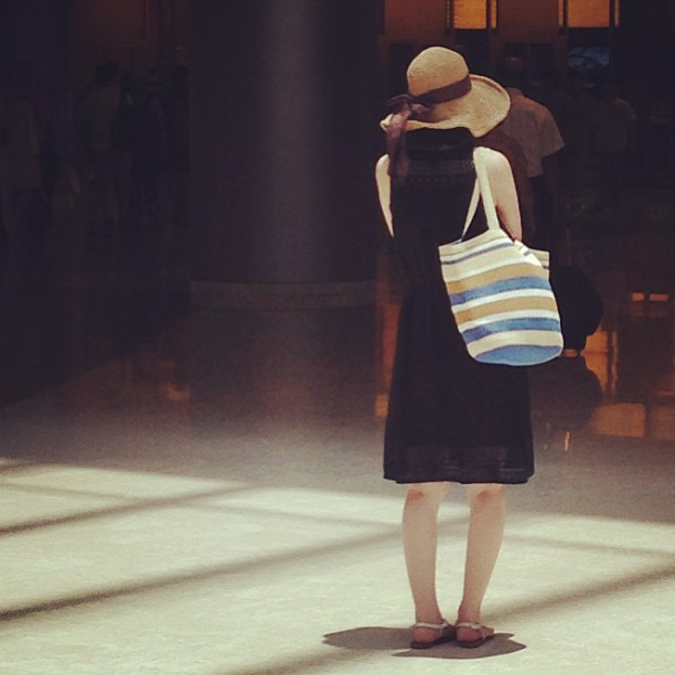 Spotted at #IFC #mall - a #lady with #elegant #summer #style. #hongkong #hk #hkig #fashion