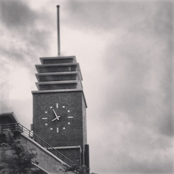 #clocktower on a #rainy #morning. #hongkong #hk #hkig #mono #clock