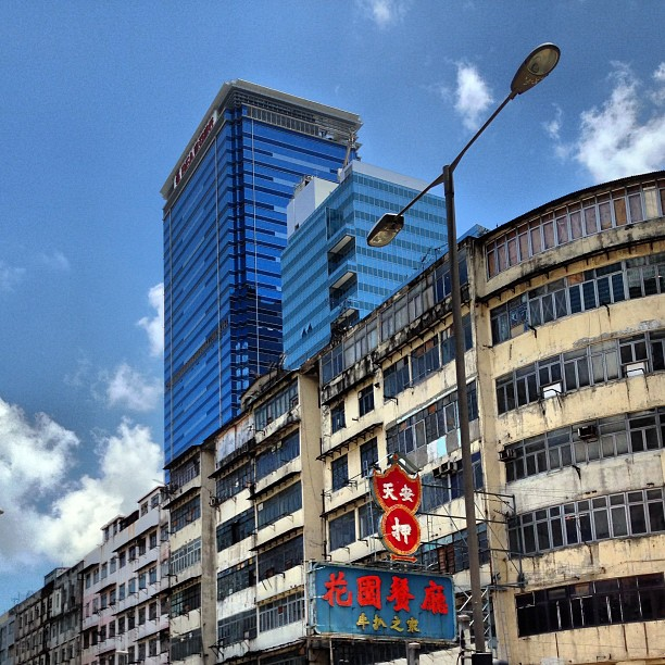 #old and #new #buildings in #KwunTong. #hongkong #hk #hkig