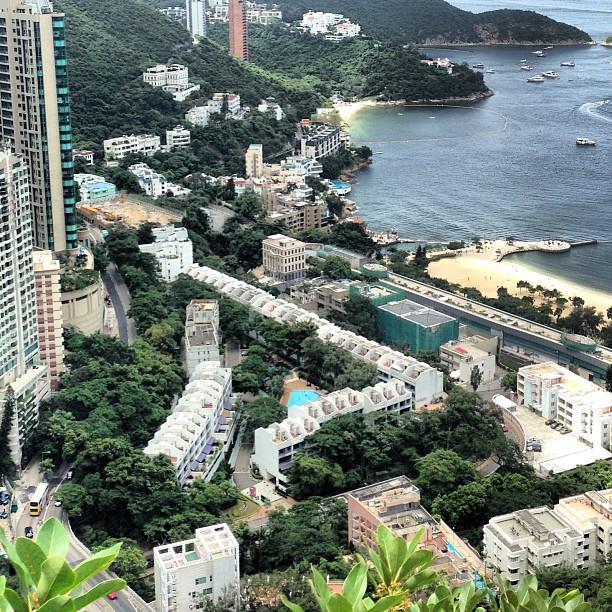#repulsebay as seen from the Wilson #trail. #hiking #hongkong #hk #hkig #repulse #bay