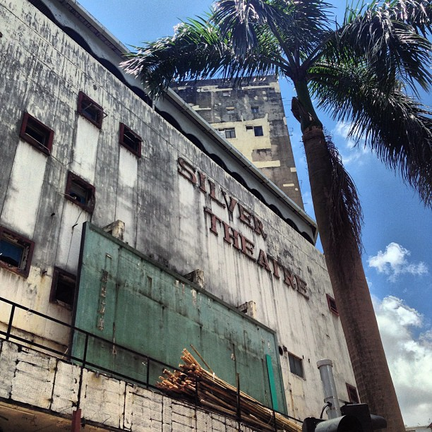 #urban #decay - the #abandoned Silver #Theatre #cinema #building in #KwunTong. #hongkong #hk #hkig