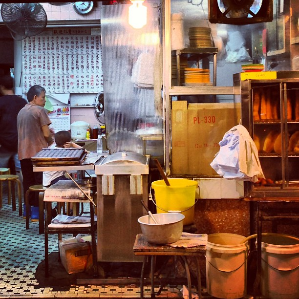An old school neighborhood #restaurant in #TaiHang. #hongkong #hk #hkig