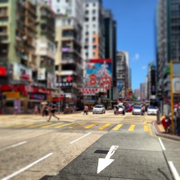 #abstract - #arrow on a #hongkong #road. #hk #hkig