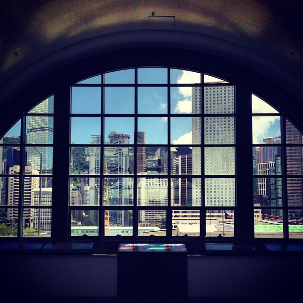 #hongkong island through the #window. #hk #hkig