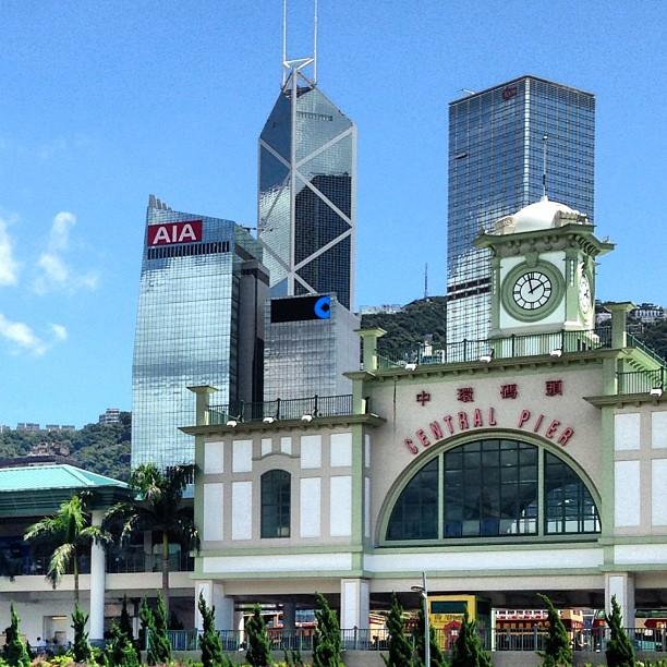 #hongkong's Central #ferry #pier. #hk #hkig