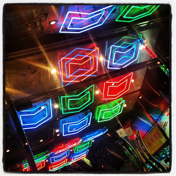 #neon #arrows light the path. #hongkong #hk #hkig