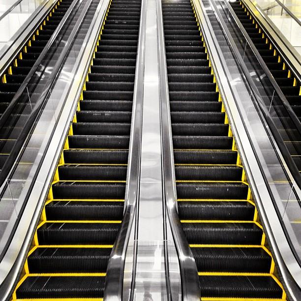 #symmetry - #escalators at #IFC #mall. #hongkong #hk #hkig