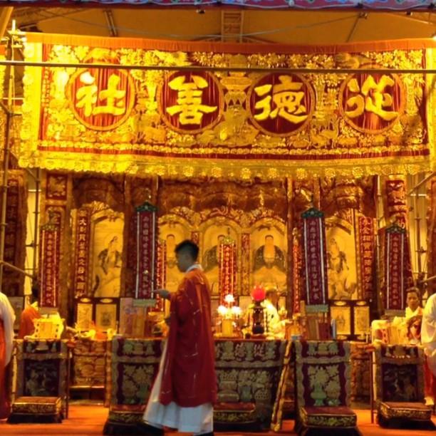 #taoist #prayer #ceremony for #YuLan (Hungry Ghost Festival). #hongkong #hk #hkig #hkivdeo #video #instavid