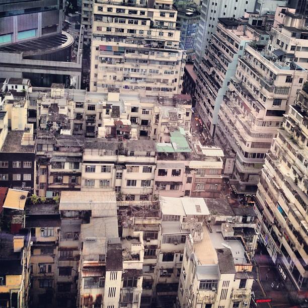 #urban #decay - #TongLaus in #CausewayBay viewed from above. #hk #hongkong #hkig