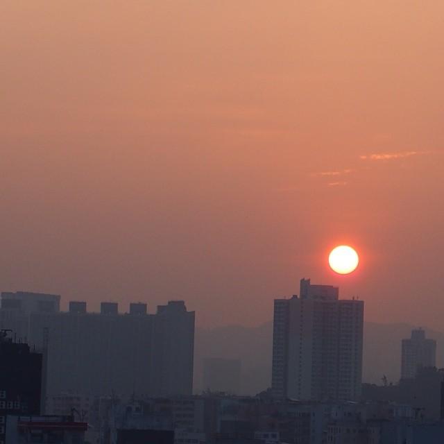 #mongkok #sunrise. #hongkong #hk #hkig