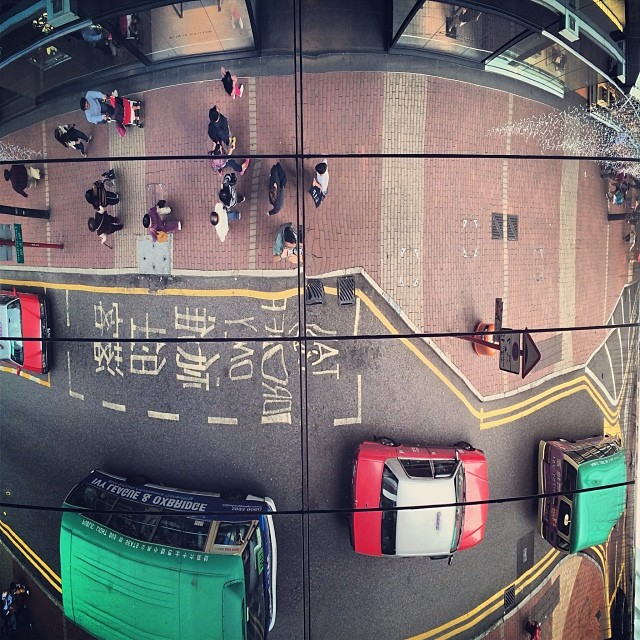 A #Birdseye #view of Yun Ping #road in #CausewayBay. #hongkong #hk #hkig