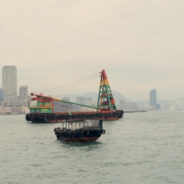 A #movingpicture - #boat on #VictoriaHarbour. #hongkong #hk #hkig #hkvideo #instavid #video