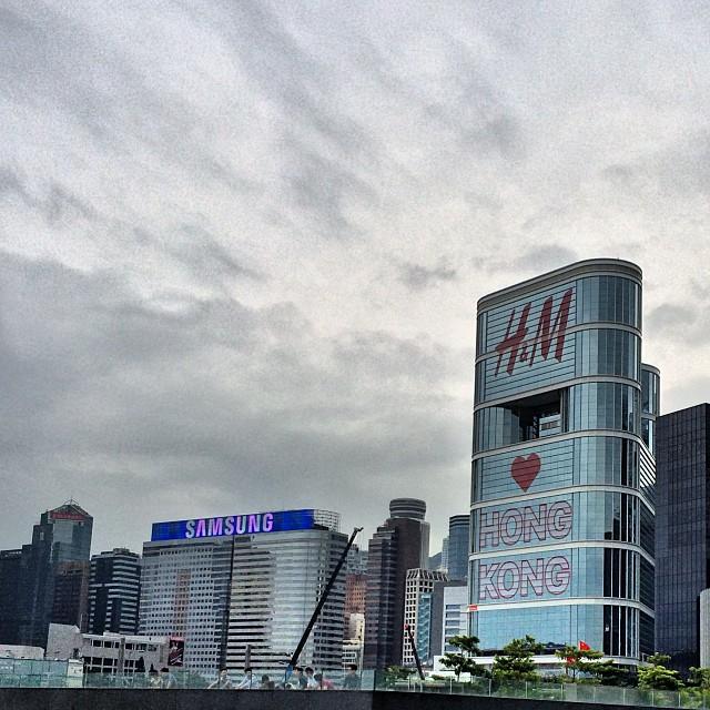 #H&M hearts #hongkong. #hk #hkig