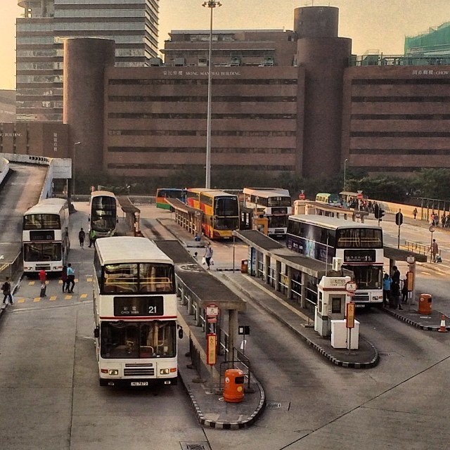 The #HungHom #bus #station #terminus. #hongkong #hk #hkig
