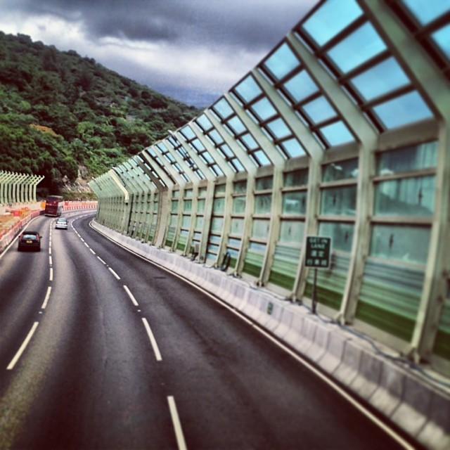 The #road goes on. A #highway in the #hongkong #newterritories #HK #hkig